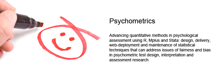 Applied Psychometrics:Advancing Quantitative Methods in Psychological Assessment